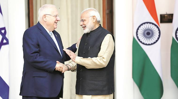 India, Israel inked two agreements on 15th November2016