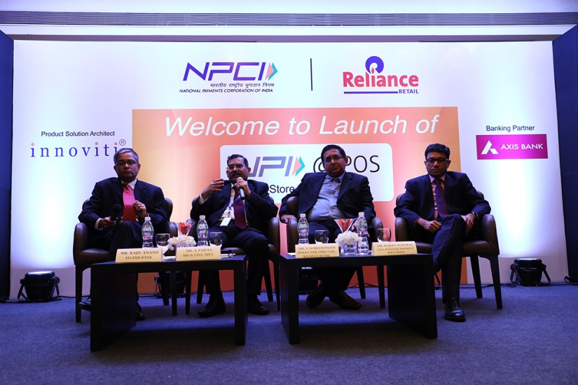 NPCI and Reliance launch India's first in-store UPI Payments facility