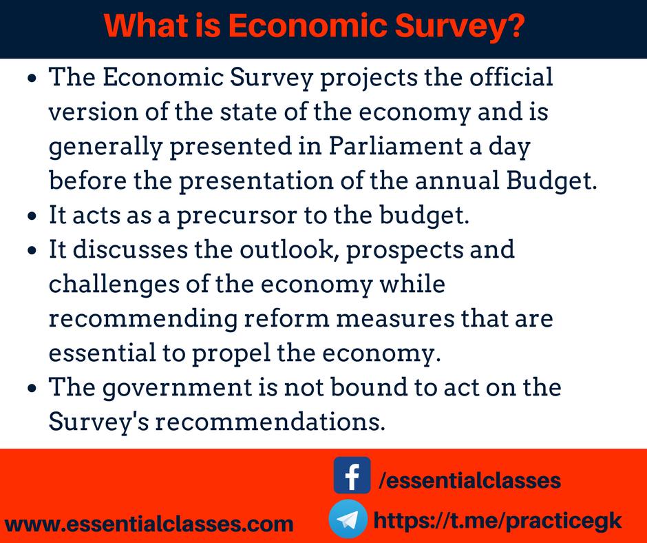 What is Economic Survey?
